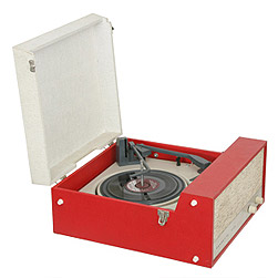 Dansette06 record player portable